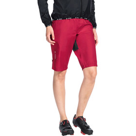VAUDE Drop Shorts Dame cranberry
